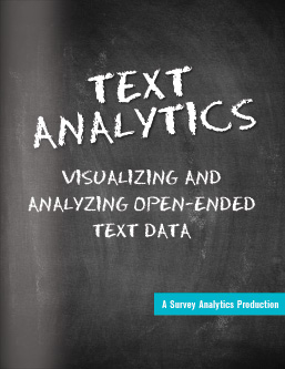 SurveyAnalytics Text Analytics